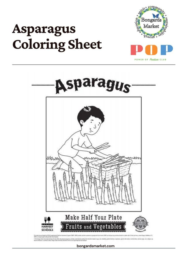 PoP Club Coloring Sheet