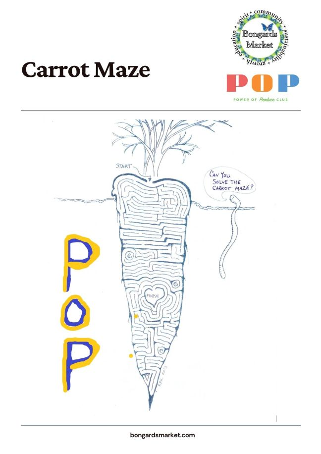 PoP Club Carrot Maze